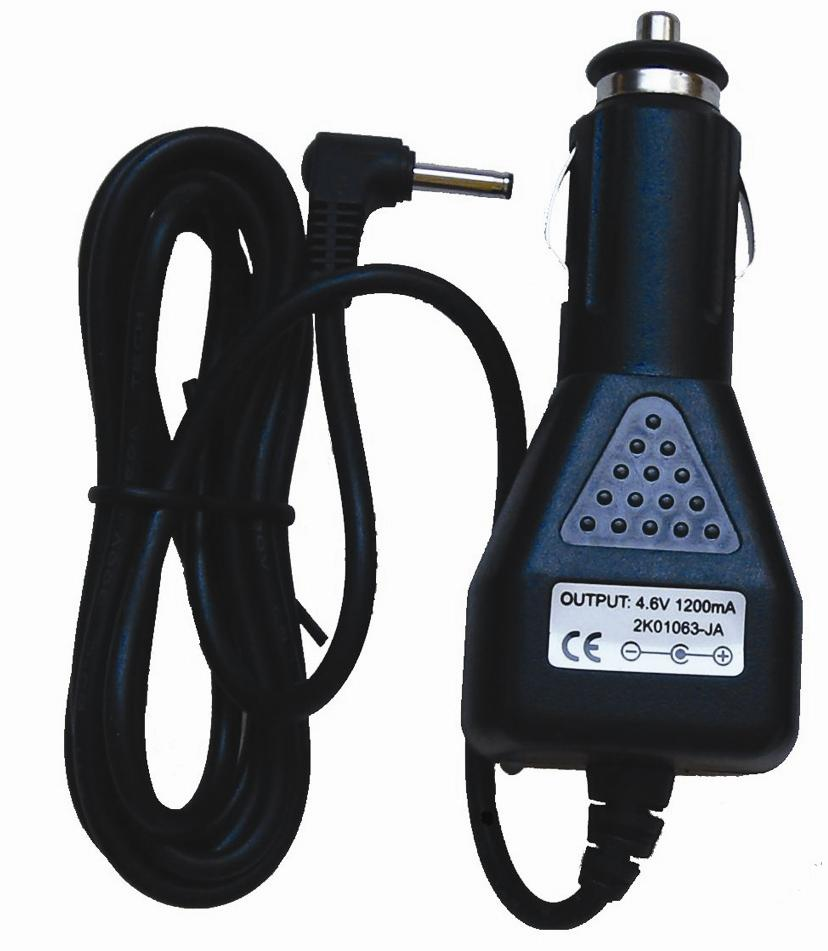 4.6V/1.2A Car Charger for Flashlights