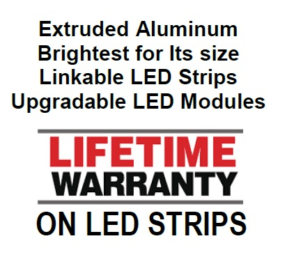 Underhood Light Lifetime Warranty