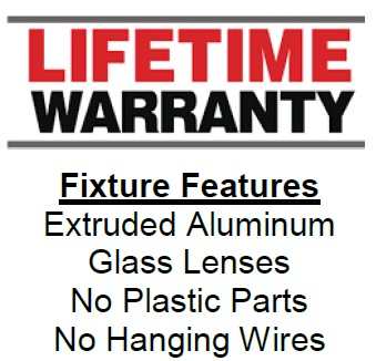 KEWLED Tool Storage Light Lifetime Warranty