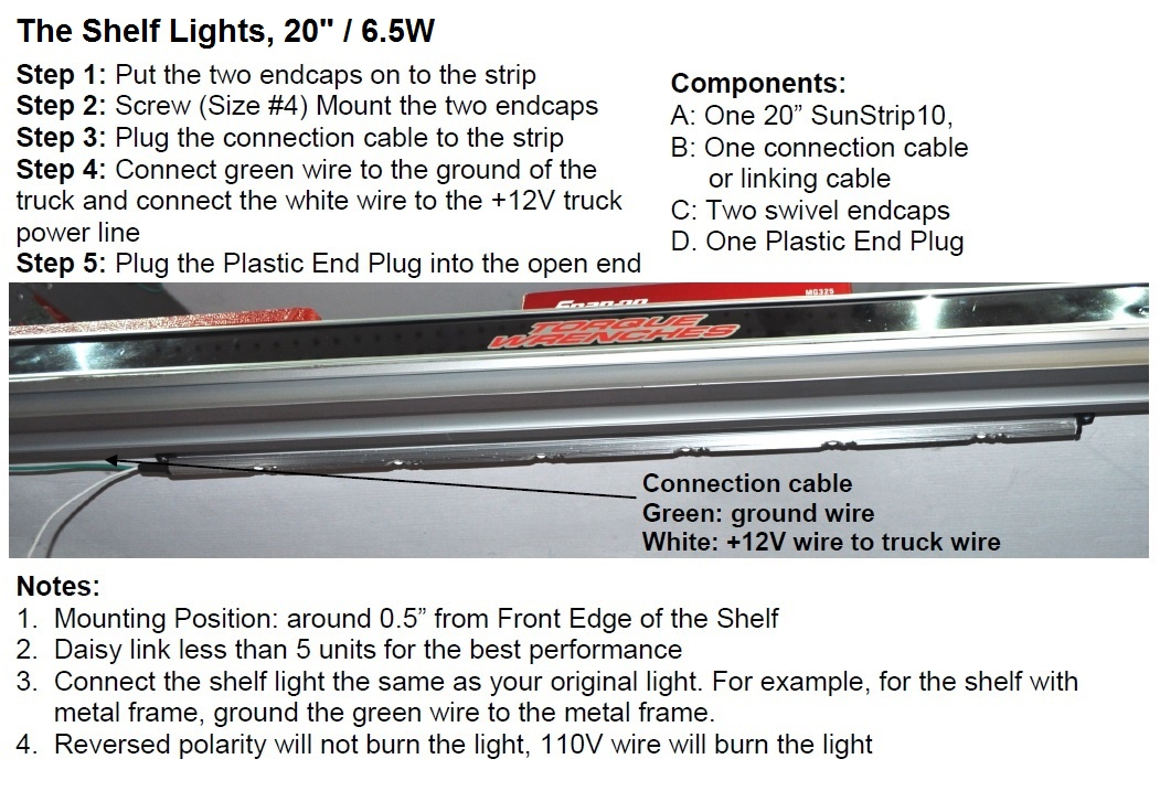 ST10 Truck Light Install